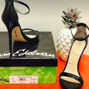"53143d2e9 Sam Edelman Shoes - Steve Edelman ""Eleanor"" Black Patent Sandal"